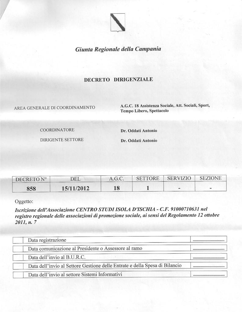 Decreto APS 2
